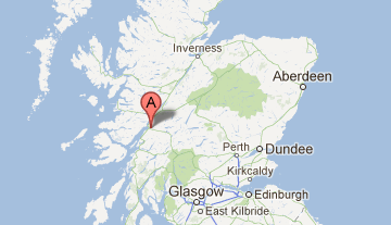 Fort Williams Scotland Map.Fort William Glencoe Ballachulish Self Catering Holiday Cottages