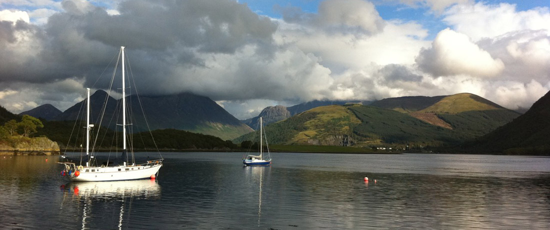 North Ballachulish, Loch Leven, holiday cottages, near Ben Nevis, the Scottish Highlands